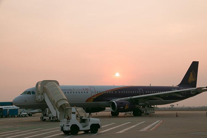 Flight Phnom Penh to Siem Reap