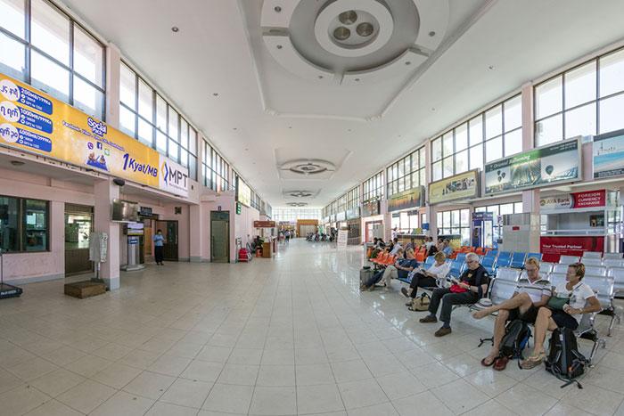 Fligth Yangon to Bagan