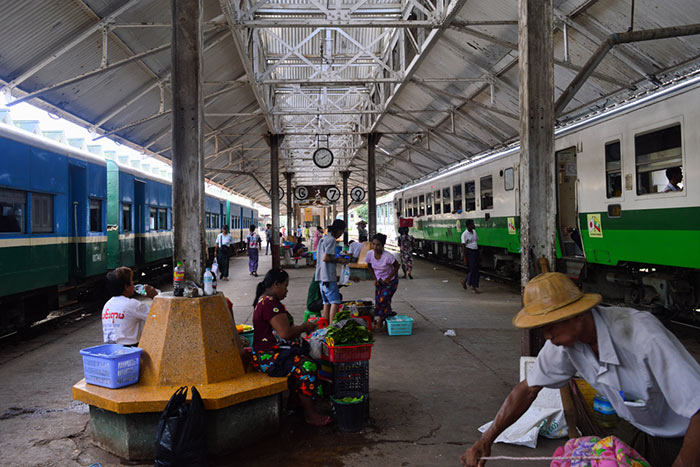 Train Yangon to Bagan