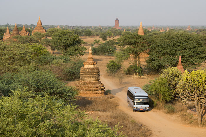 Transport Yangon to Bagan