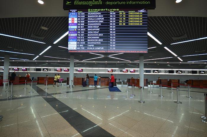 Flights Phnom Penh to Sihanoukville