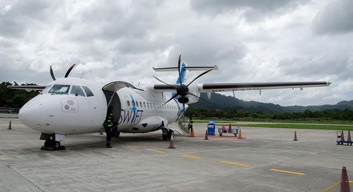 Flight from El Nido to Coron