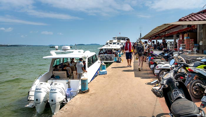 High-Speed Ferry and Speedboat from Sihanoukville to Koh Rong