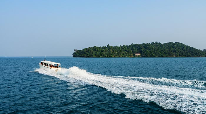 Options for Travel from Sihanoukville to Koh Rong