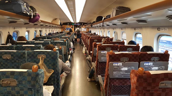 Nagoya to Tokyo by Train