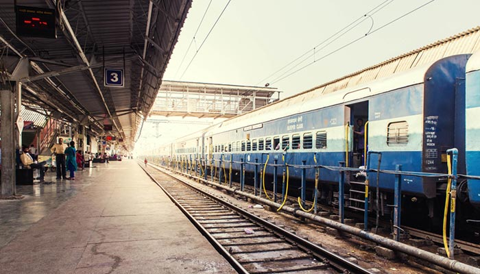 Agra to Jaipur by Train