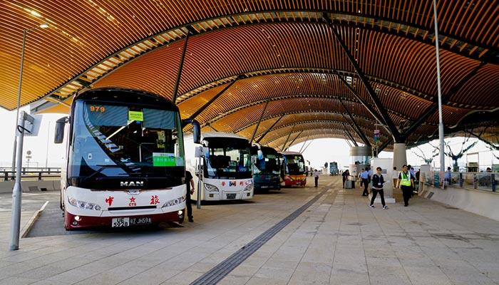 Hong Kong to Macau by Bus