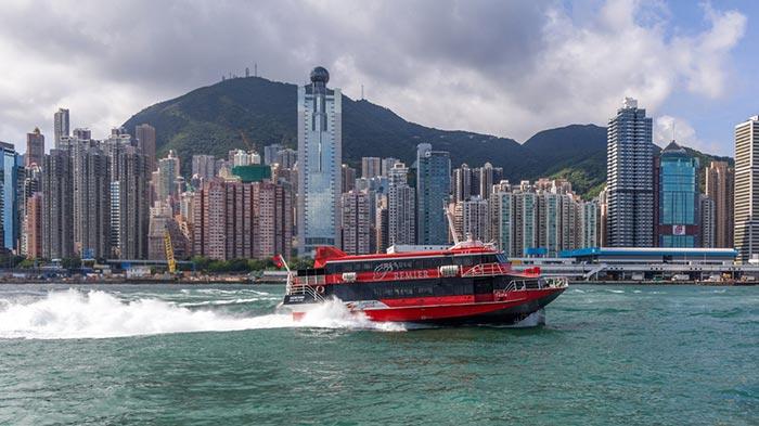Hong Kong to Macau by Ferry