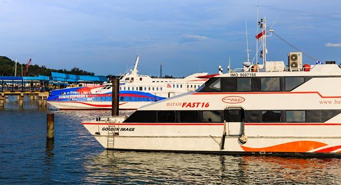 Singapore to Batam by Ferry