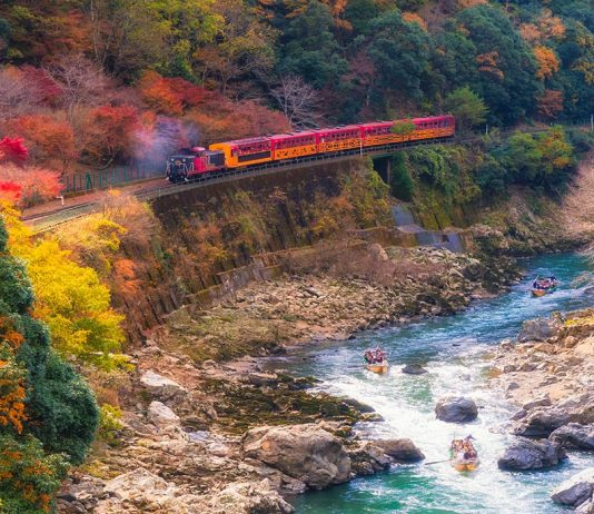 Travel by Train in Japan