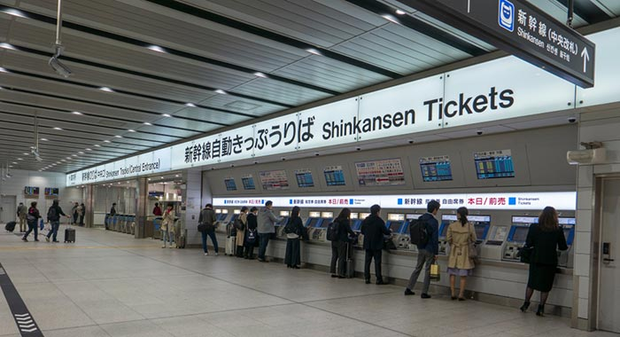 Where to Buy Your Tickets for Train Travel in Japan