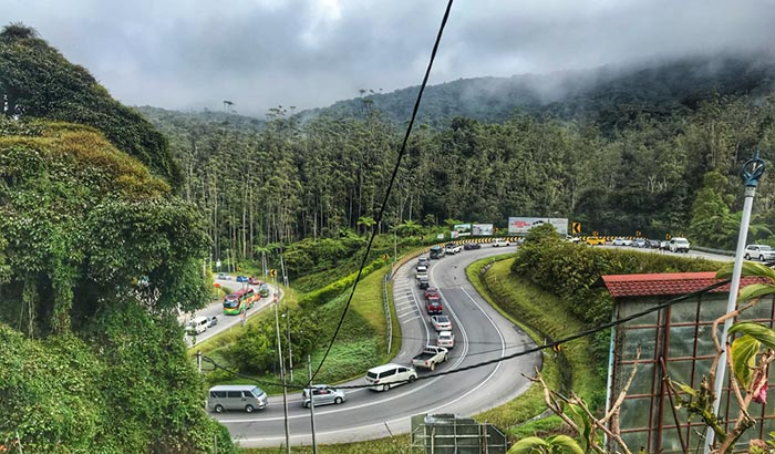 Options for Travel from Singapore to Cameron Highlands